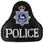 Hertfordshire Police Cloth Sweater Patch