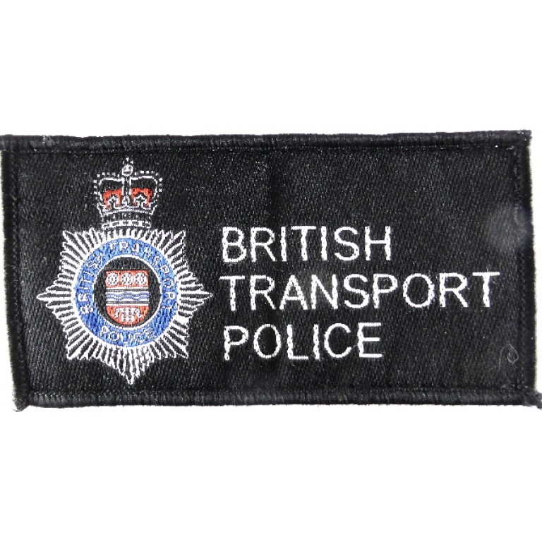 British Transport Police Cloth Sweater Patch