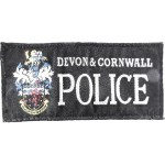 Devon & Cornwall Police Cloth Sweater Patch Small Lettering