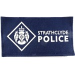 Strathclyde Police Cloth Sweater Patch Blue Cloth