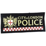 City Of London Police Rubberised Cloth Sweater Patch