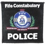 Fife Constabulary Cloth Sweater Patch