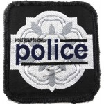 Northamptonshire Police Cloth Sweater Patch