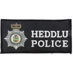 North Wales Police Cloth Sweater Patch