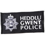 Heddlu Gwent Police Cloth Sweater Patch 137mm Long