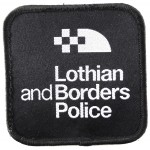 Lothian And Borders Police Cloth Sweater Patch
