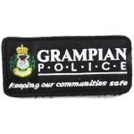 Grampian Police Cloth Sweater Patch