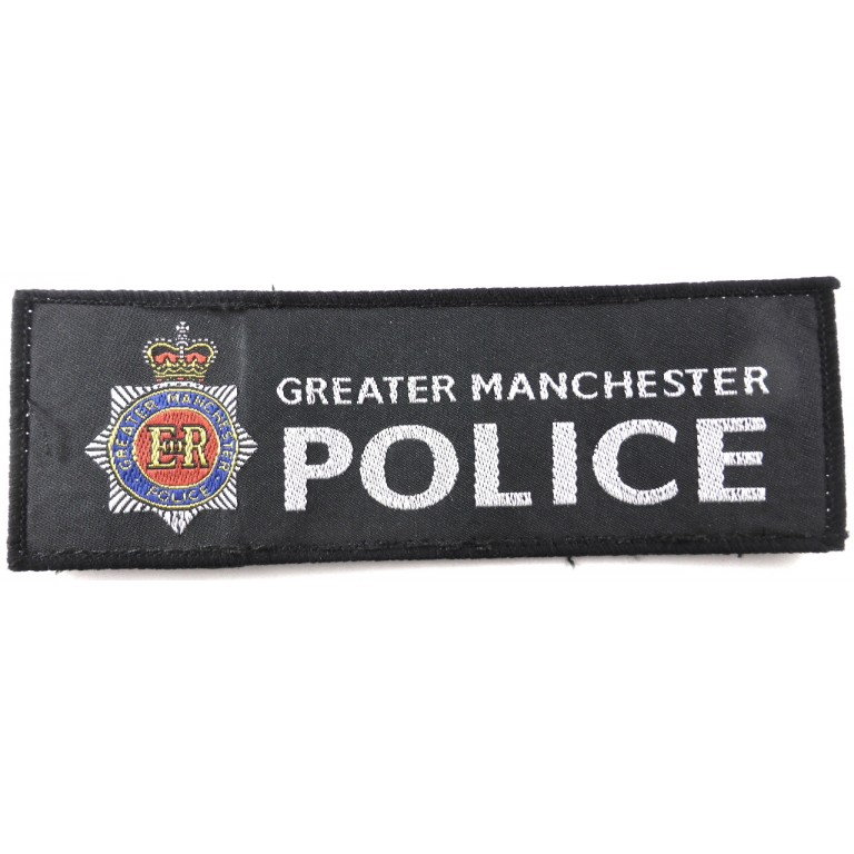 Greater Manchester Police Cloth Sweater Patch