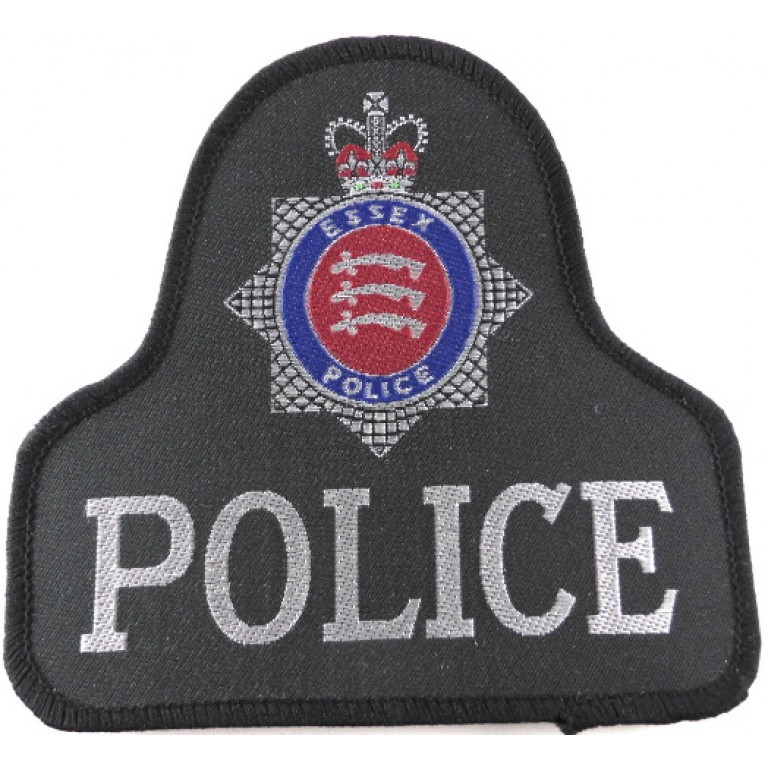 Essex Police Cloth Sweater Patch