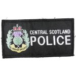 Central Scotland Police Cloth Sweater Patch