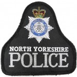 North Yorkshire Police Cloth Sweater Patch