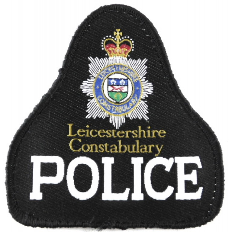 Leicestershire Police Cloth Sweater Patch