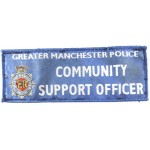 Greater Manchester Police Community Support Officer Cloth Patch