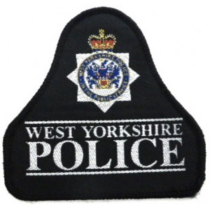 West Yorkshire Police Cloth Sweater Patch