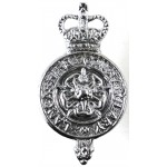 Lancashire Constabulary Chrome Collar Badge