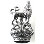Army Department Constabulary Chrome Collar Badge