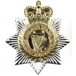 Northern Ireland Security Guard Service Collar Badge