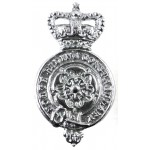 North Riding Constabulary Chrome Collar Badge