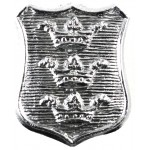 Hull City Police Chrome Collar Badge
