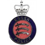 Essex Police Enamel Collar Badge