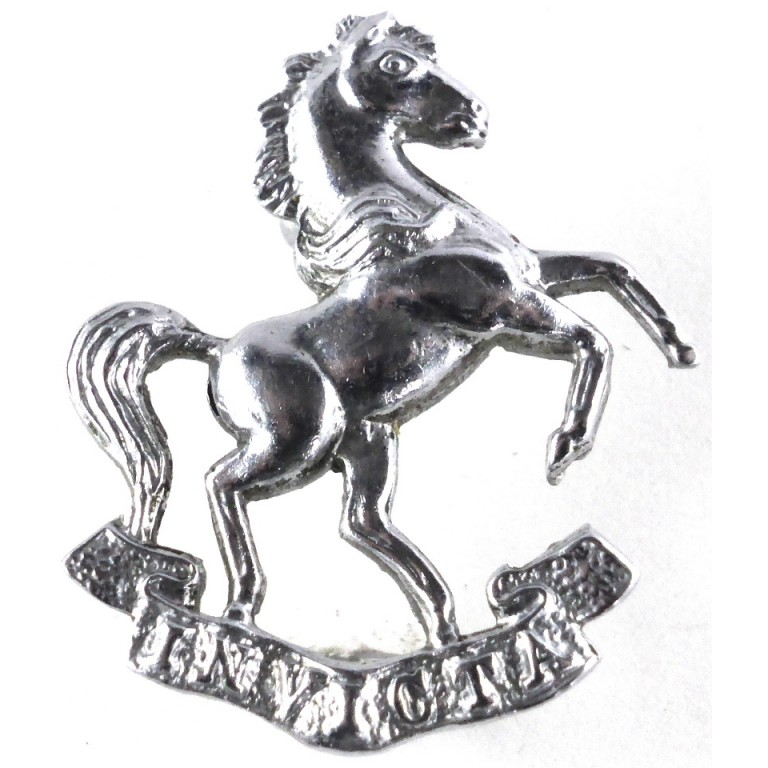 Kent Police Chrome Collar Badge 27mm