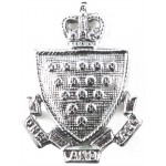 Cornwall Police Post 1953 Chrome Collar Badge