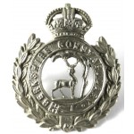 Berkshire Constabulary White Metal Collar Badge