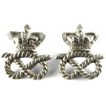 Staffordshire Police Victorian White Metal Collar Badges