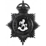Kent Constabulary Helmet Badge 1935-60