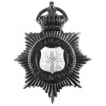 Durham County Constabulary Helmet Badge 1950-53