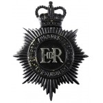 Cumberland & Westmorland Constabulary  Blackened Brass