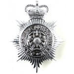 Lancashire Constabulary Chrome Helmet Badge