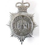 Birmingham City Police Chrome Helmet Badge