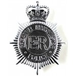 Greater Manchester Police Chrome Helmet badge