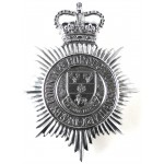 Derby County & Borough Constabulary Chrome Helmet Badge