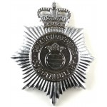 Cambridgeshire Constabulary Chrome Helmet Badge