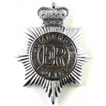 Humberside Police Chrome Helmet Badge