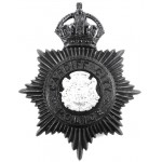Cardiff City Police Black Helmet Badge 1935-52
