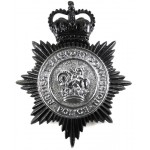 British Transport Police Blackened Helmet Badge