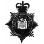 East Suffolk Police Blackened Helmet Badge