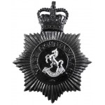Kent Constabulary Blackened Helmet Badge