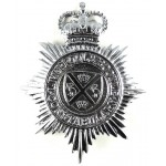 Liverpool & Bootle Constabulary Chrome Helmet Badge