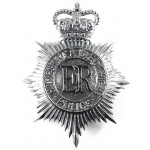 Hampshire & Isle Of Wight Police Chrome Helmet Badge