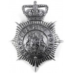 Bradford City Police Chrome Helmet Badge