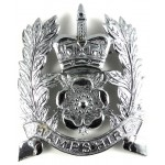 Hampshire Police Chrome Helmet Badge