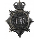 Gloucestershire Constabulary Black Helmet Badge