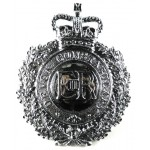 Devon Constabulary Chrome Helmet Badge