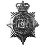 Gloucestershire Constabulary Blackened Night Helmet Badge