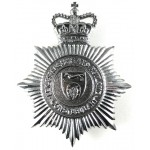 Leicestershire And Rutland Constabulary Helmet Badge