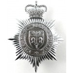 Cheshire Constabulary Chrome Helmet Badge